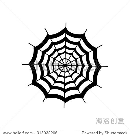 矢量图的蜘蛛网 - 动物/野生生物,符号/标志 - 站酷