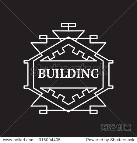 字母組合設計模板,標志設計,矢量插圖