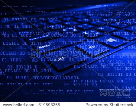 高科技键盘与二进制数