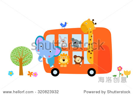 动物的巴士