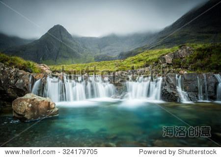the fairy pools glen brittle skye scotland