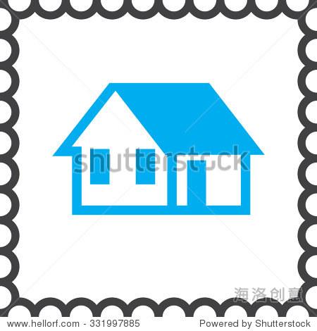 房子矢量图标