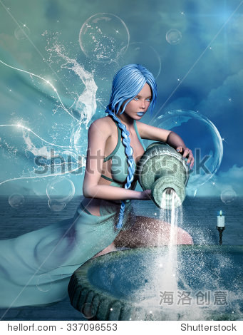狮子系列水瓶座配对一个美丽的指数星座金牛座喜欢女孩图片