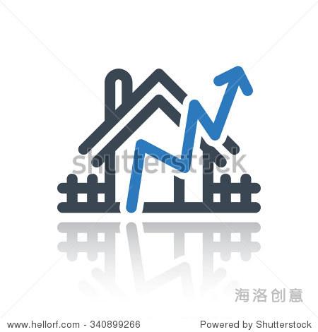 房地产图数据矢量图标