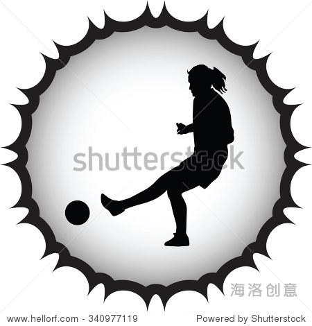 女子足球运动员