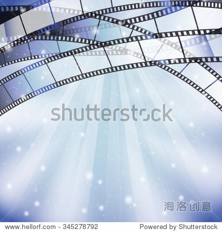 背景,幻灯片和星星,条纹,灯上边界 - 背景/素材,艺术