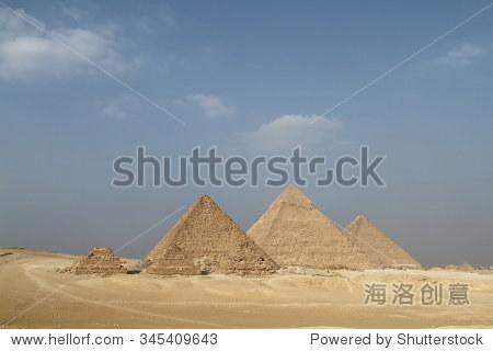 在埃及吉萨金字塔和狮身人面像 - 建筑物/地标 - 站酷