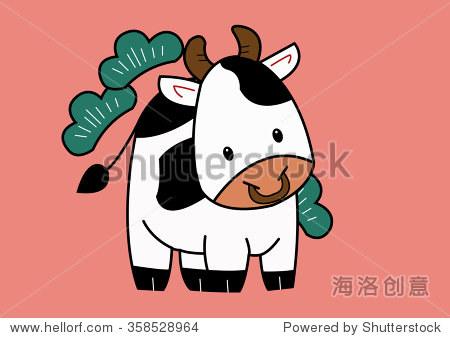 牛——十二生肖动物的迹象