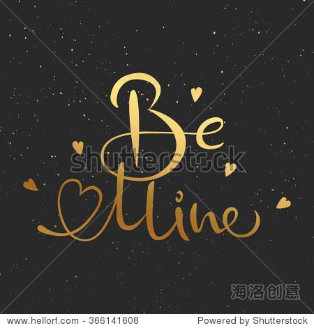 金色字体在黑色背景 明信片 背景 素材,艺术 海洛创意正版图片,