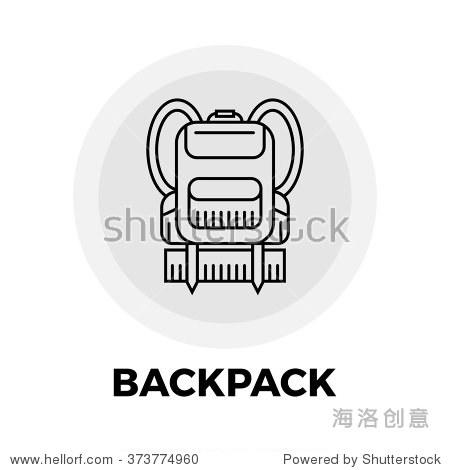 背包图标矢量 背包图标持平 背包的图标形象 背包图标对象 背包行图标