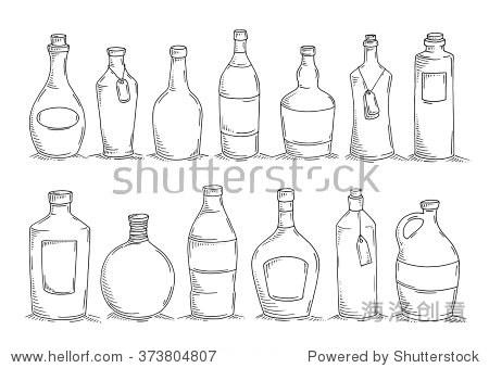 瓶子的画法步骤图片