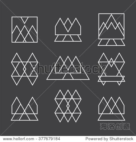 积木是将圆形,三角形,正方形二等分成三等分后的图形