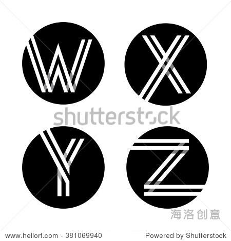 �zf��b-��#y.'z(�_capital letters w x y z. from double white stripe