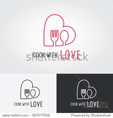 flat design vector illustration. food icon.图片