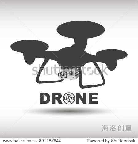 无人驾驶飞机图标,图形