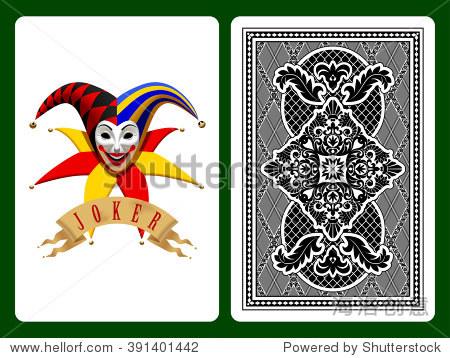 小丑扑克牌在黑色和背后的背景 原始设计 矢量图 背景 素材,符号 标志 站酷海洛创意正版图片,视频,音乐素材交易平台 Shutterstock中国独家合作伙伴 站酷旗下品牌图片