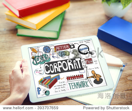 Corporate Business Start up Marketing Concept