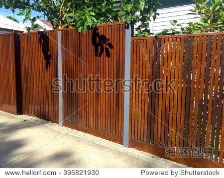 木栅栏,硬景观 - 物体,公园/户外 - 站酷海洛创意正版