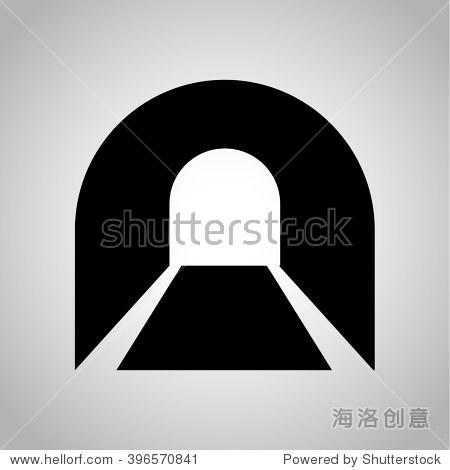 地铁隧道图标