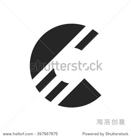 商标字母c设计的概念
