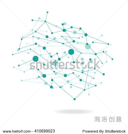 点阵中国地图矢量