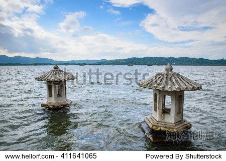 杭州西湖风景-背景/素材,自然-海洛创意正版图片,视频
