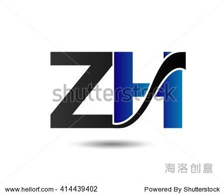 爸爸���$y�.Zh�Zh�z�_unusual z and h. business zh logo template