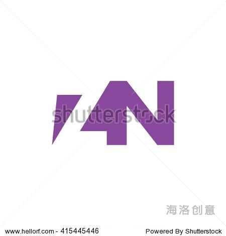 zn logo. vector graphic branding letter element.