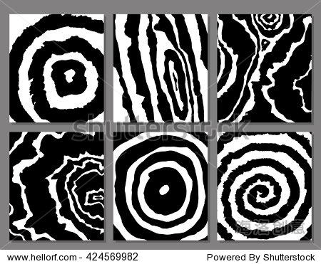 纹理手绘,黑白图形 - 背景/素材,抽象 - 站酷海洛创意