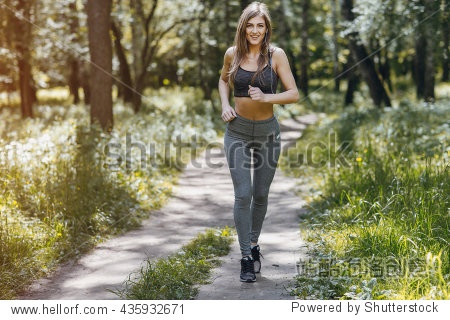 athletic glasses  athletic girl running