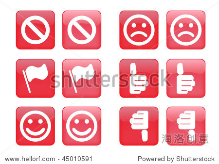 forexample图标_icons including selected and nonselected (by mouse for example)