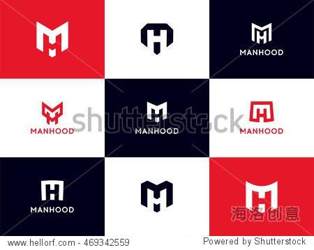网��9`mh���z�h��XÚ�_minimalistic mh logo collection.