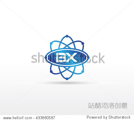 science logotype template design图片