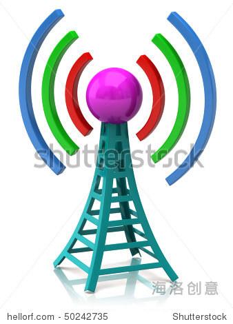 无线网络与无线电波塔