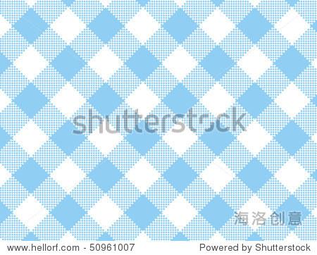 蓝白条纹的布料.