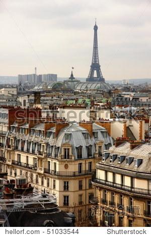 巴黎埃菲尔铁塔 - 建筑物/地标,交通运输 - 站酷海洛