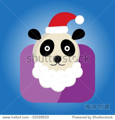 动物系列剪贴画熊猫