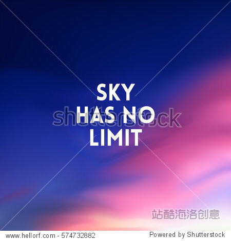 square blurred lilac pink blue background - sunset sky colors