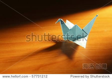 纸折动物折纸鸟