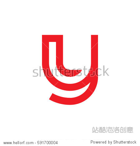 ����y.���,���9�y.ly/)_initial letter logo yl ly l inside y rounded lowercase red flat