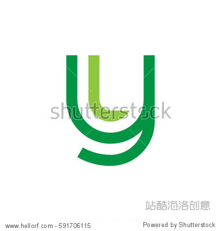 ����y.���,���9�y.ly/)_initial letter logo yl ly l inside y rounded lowercase green