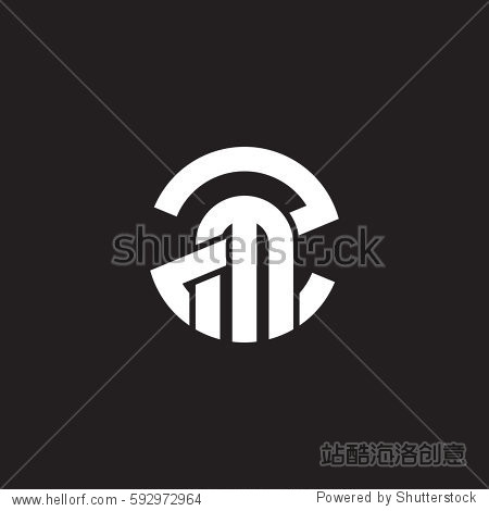 囹�a�c.�9`mz�^�z�h��_initial letter logo zm mz m inside z rounded lowercase white