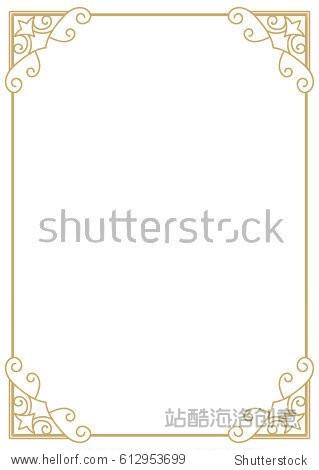 ppt 背景 背景图片 边框 模板 设计 相框 319_470 竖版 竖屏