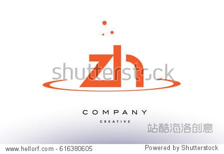 �:/~K��Y(�Zh�Zh�X�x�_zh z h creative orange swoosh dots alphabet company letter logo