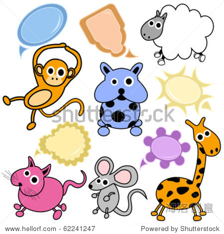 可爱的动物-动物/野生生物