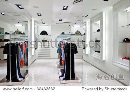 服装店室内