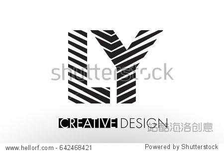 日�:l�y.ly/)��-yol_ly l y lines letter design with creative elegant