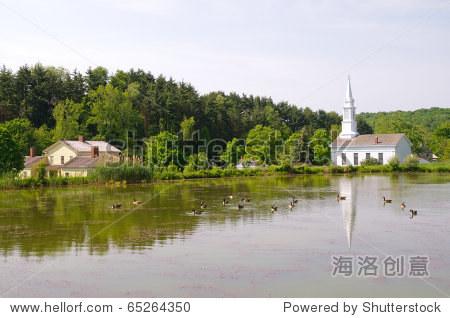 黑尔湖农场和村庄历史遗址