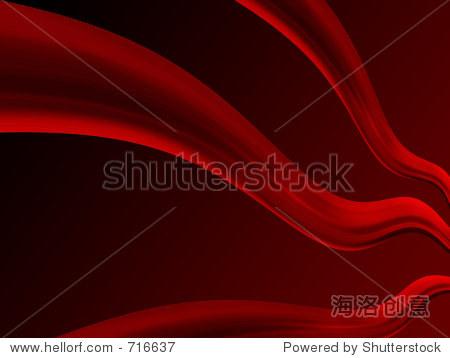 深红色背景