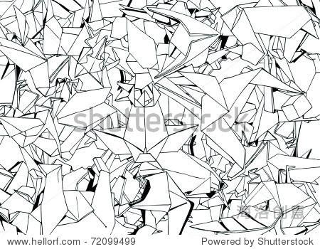 折纸动物集(向量)